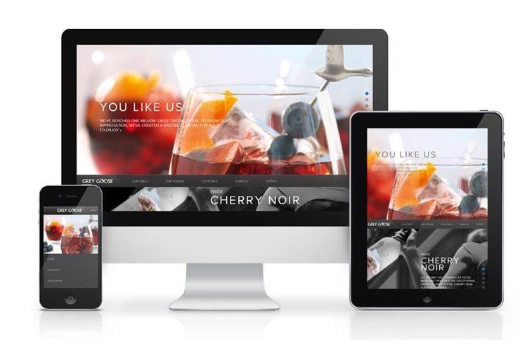 web-applicatie op smartphone tablet en computer